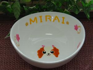 オーダー食器MIRAIちゃん