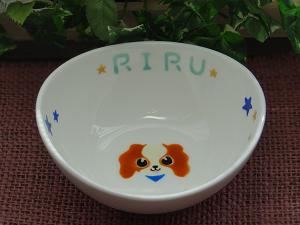 オーダー食器RIRUちゃん