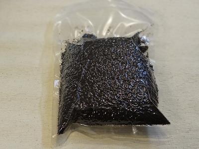 コーヒー豆を真空状態に