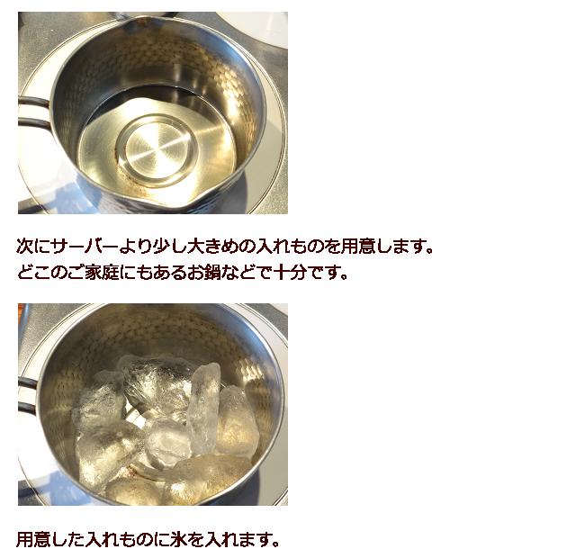 アイスコーヒーの作り方2