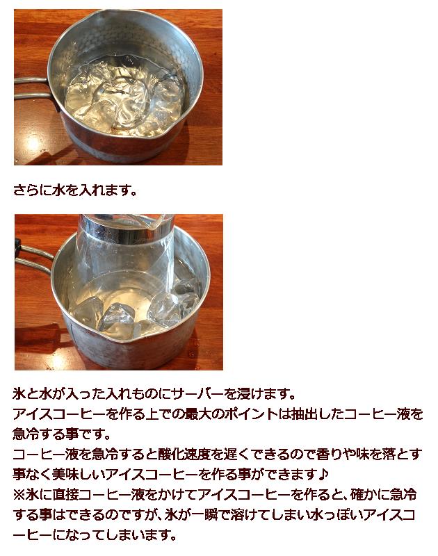 アイスコーヒーの作り方3