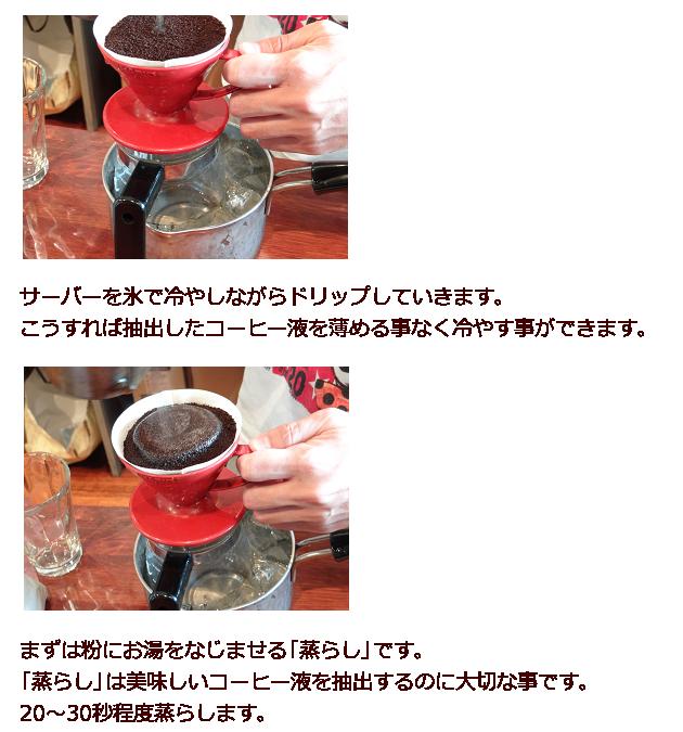 アイスコーヒーの作り方4