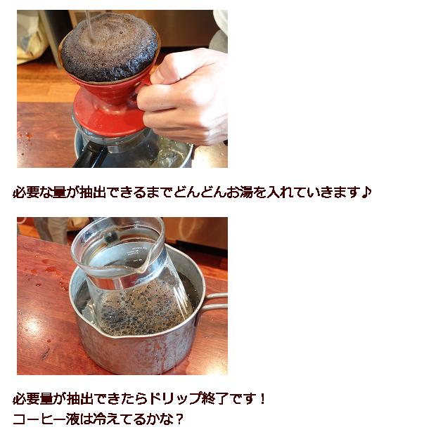 アイスコーヒーの作り方6