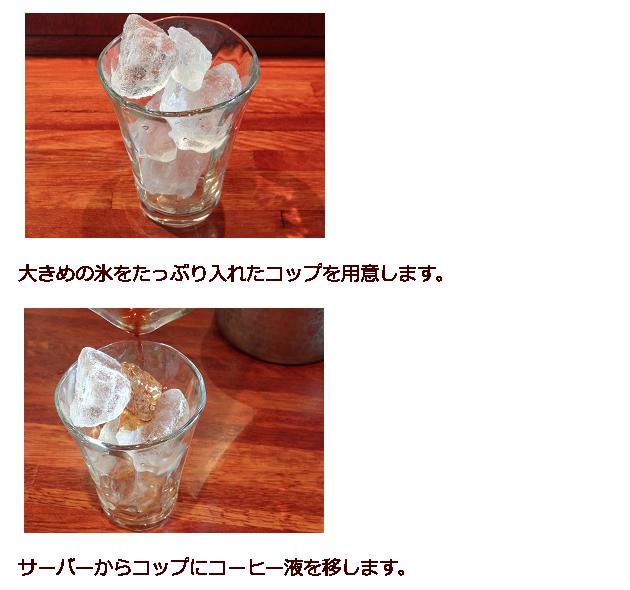 アイスコーヒーの作り方7
