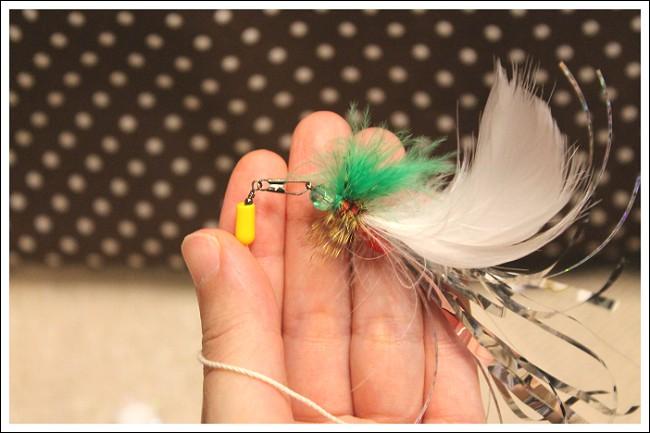 毛鉤風おもちゃ取り替え方法3