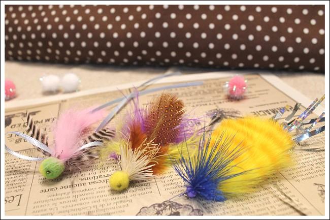 毛鉤風フライホビー3個パック例1