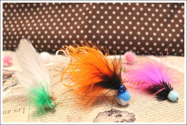 毛鉤風フライホビー3個パック例2